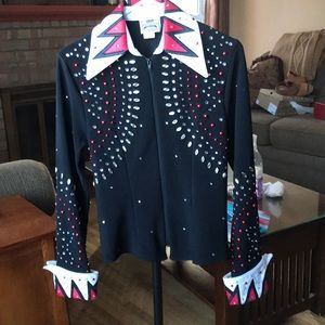 Other - Women's horse show riding outfit, jeweled